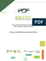 Violencia y Conflictividad en el entorno Político