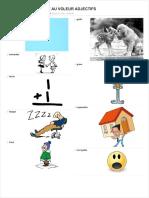 Lecture Au Voleur Adjectifs