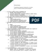 Contabilitate Financiara, an 2, sem 1 - ID