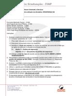 FIAP 14AOJ- Instrucoes Para o Trabalho Da Disciplina