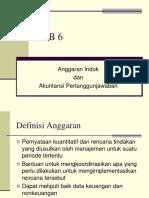 Reverensi Anggaran Induk Dan Akuntansi Pertanggungjawaban