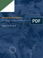 Reid - Biological Emergences; Evolution by Natural Experiment (2007).pdf