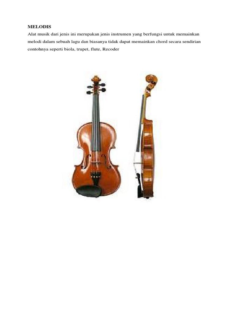 Istrumen Alat Musik