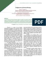 Antiglaucoma Pharmacotherapy