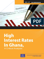 High Interest Rates in Ghana a Critical Analysis(1)