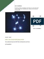 Orion Constellation or Hunter Constellation
