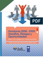 Honduras 2008-2009