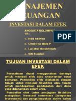Investasi Dalam Efek New