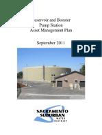 FINAL Reservoirs and Booster Pump Stations Asset Management Plan September 2011