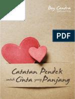Boy Candra - Catatan Pendek untuk Cinta yang Panjang.pdf