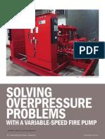 VFD SolvingOverpressureProblemsWithaVariableFirePump