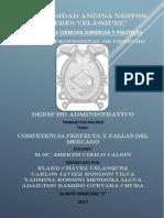 Competencia Perfecta y Fallas Del Mercado