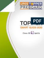 Topper Smart Guide-2010 Class-xii Math