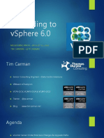 Upgrading to VSphere 6.0