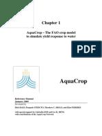 Aqua Crop Chapter 1