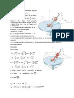 ejercicios de dinámica- coordenadas cilíndricas