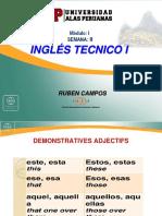 Ingles Tecnico i Semana II