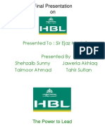Final Hbl Presentation