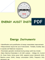 Energy Audit Instruments