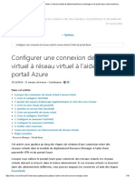 Connecter Des Réseaux Virtuels à l'Aide Du Modèle de Déploiement Resource Manager Et Du Portail Azure _ Microsoft Docs