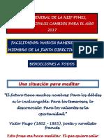 Cambios Niif Pymes Congreso Docentes 14 de Abril 2016.
