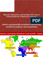 2 Update on Measles Rubella Elimination (Global, Regional and National)