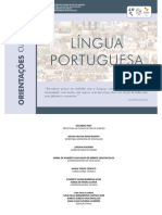 Língua Portuguesa Orientações Curriculares 2016