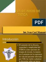Criterios de Inicio de Targa