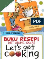 Buku Resepi Diet Atkins Saya!! Ed1