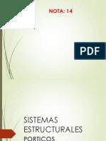 Sistema Estructural Pórticos