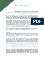 Análisis Literario Del Piano Blanco