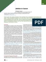 Ketergantungan Transkripsi Sel Kanker