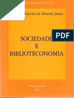 ALMEIDA JR Sociedade e Biblioteconomia