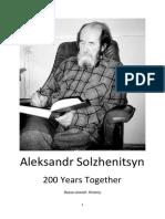 200 Years Together - Solzhenitsyn