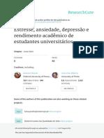 Estresse, Ansiedade e Depressão e Rendimento Acadêmico de Estud Universit - Mascarenhas, Roazzi, & Riberio 2013