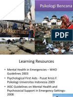 Psikologi Bencana