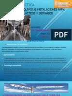 Diapositiva de Maquinaria de Lacteos
