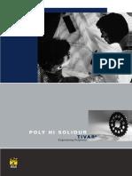 Полиэтилен Tivar - Программа Поставки