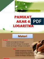__PANGKAT, AKAR & LOGARITmA -