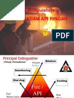 Alat Pemadam API Ringan (APAR)