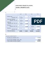 Gslc Profit Planning