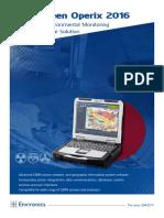 Enviscreen-Operix 2016 System Software