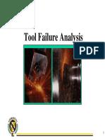 2.1 Tool Failure Analysis