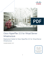 CVD - Deployment Guide for Cisco HyperFlex 2.5 for Virtual Server Infrastructure