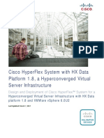 CVD - Virtual Server Infrastructure With HX Data Platform 1.8 and VMWare VSphere 6.0U2