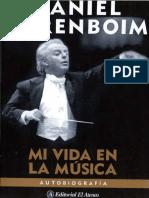 Daniel Barenboim - Mi vida en la música