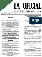 Ley Del Ejercicio de La Fisioterapia -Gaceta Oficial N38985 Del 1 de Agosto de 2008