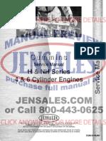 Cummins Engine Service Manual Cum s h Nh