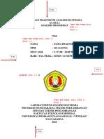 format laporan praktikum upn