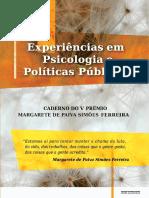 Premio Margarete de Paiva CRP-RJ